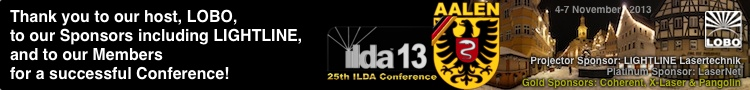 ILDA 2013 Conference in Aalen, Germany -- hosted by LOBO