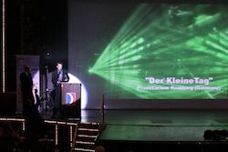 Simon Bottcher of Planetarium Hamburg at the 2010 ILDA Awards